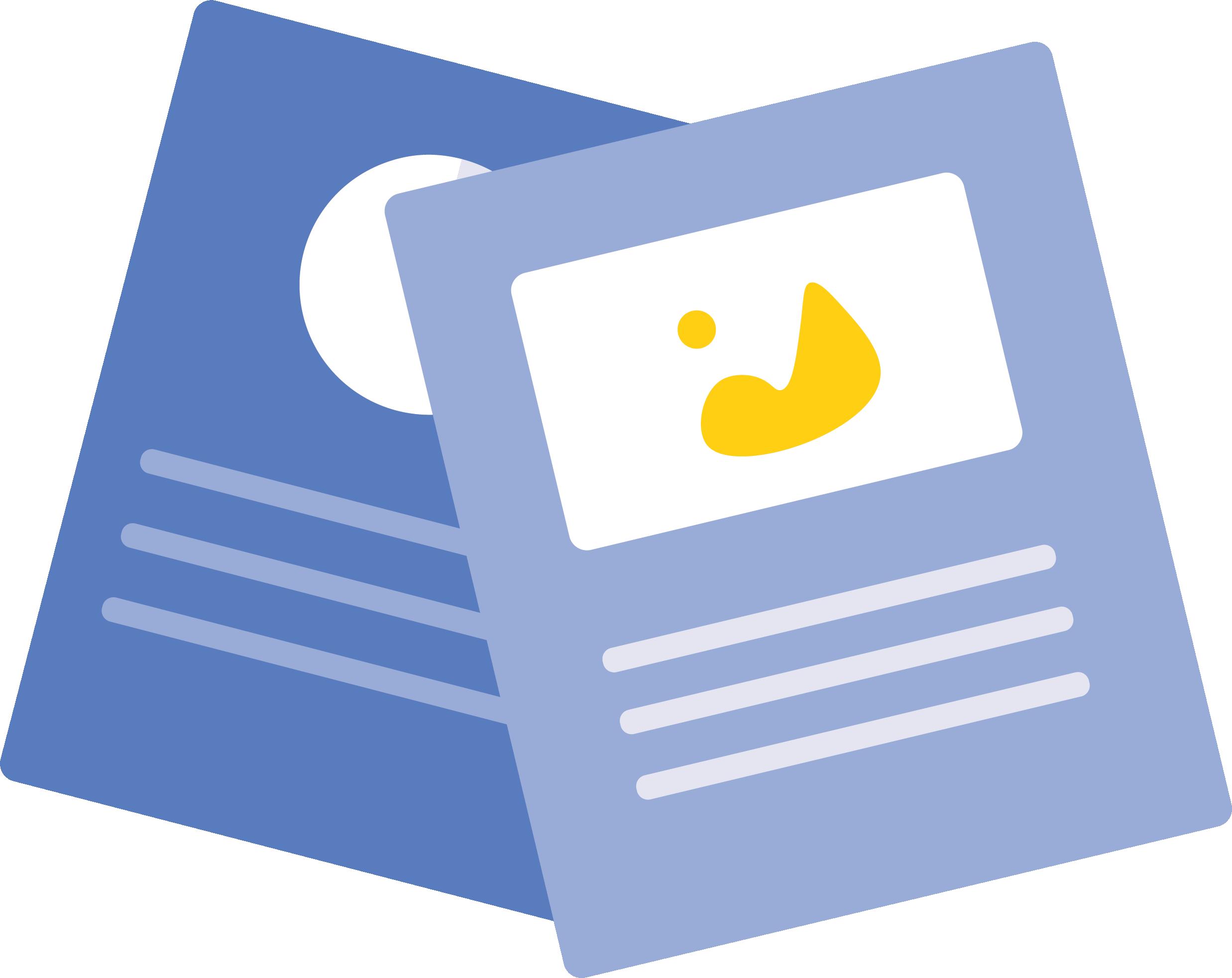 Two PDF icons